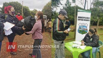 AVANZA PROYECTO DE MEJORAMIENTO SOCIAL EN CAPITÁN MIRANDA.