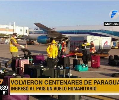 236 paraguayos fueron repatriados de EEUU