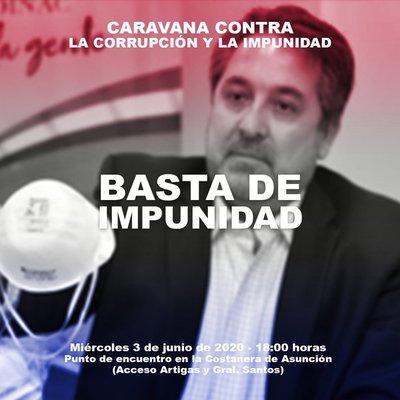 Se prevé masiva concurrencia en 'Caravana contra la Corrupción e Impunidad'