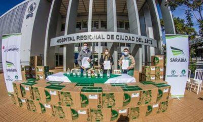 » Grupo Sarabia firma alianza de actores claves con el Hospital Integrado Respiratorio de Alto Paraguay