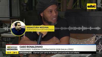 Gestores del caso Ronaldinho fueron contratados por Dalia López