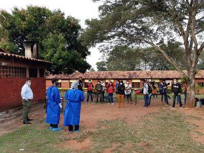 43 compatriotas abandonan albergues de Canindeyú y Central