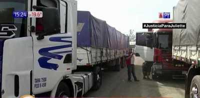 Estricta cuarentena para camioneros