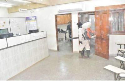 Municipalidad de Carapeguá y Copaco cierran mañana por caso de covid-19