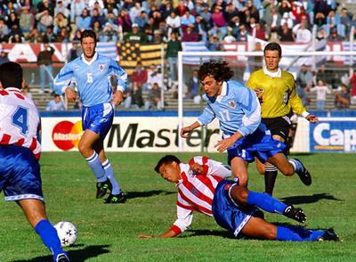 Paraguay y el primer paso hacia Francia 98