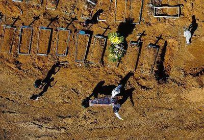 Con récord diario, Brasil supera los 31.000 muertos por covid-19