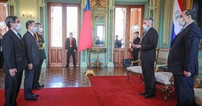 Embajadores de Colombia, Perú y Taiwán presentaron sus cartas credenciales