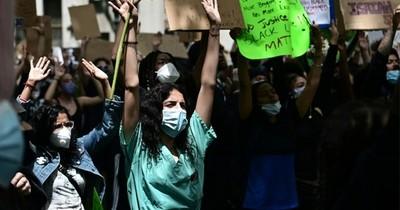 Las protestas se intensifican en EEUU en respuesta al tono marcial de Trump
