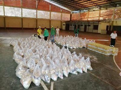 Denuncian que colorados entregaron kits de alimentos a amigos y partidarios