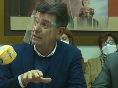 Efraín Alegre recusa a fiscal