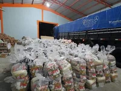 Alto Paraguay: Ya está en marcha la tercera entrega de kits de alimentos para escolares