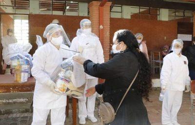 Continúa la entrega de kits de alimentos a instituciones educativas de la Capital » Ñanduti