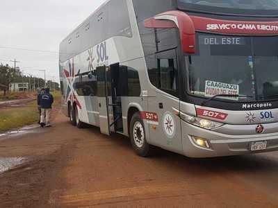Buses no están ingresando a la terminal de CDE