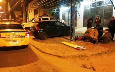 Motociclistas heridos en accidentes • Luque Noticias