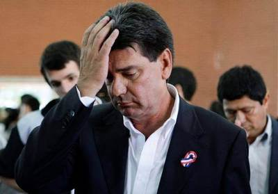 Jueza admitió imputación contra Efraín Alegre