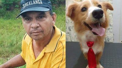Florencio Giménez; quiero que me den el perrito, yo lo rescaté de la calle y no soy un maltratador''