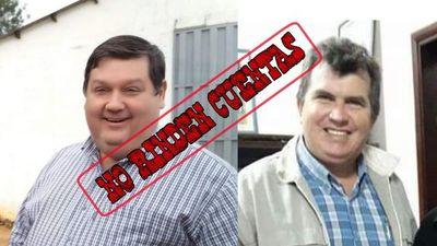 Misiones; Carlos Afara e Ignacio Larre, no rinden cuentas por FONACIDE