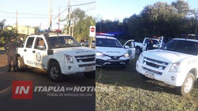 POLICÍA INTENSIFICA CONTROLES EN CAMBYRETÁ