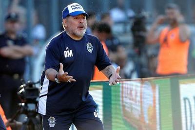 Diego Maradona extiende su vínculo con Gimnasia
