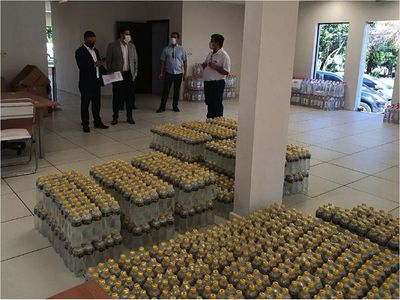 Petropar dice que recuperó el dinero de dudosa compra de agua tónica