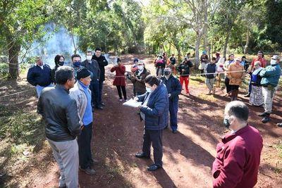 Buscan frenar invasión y tala de árboles en reservas naturales