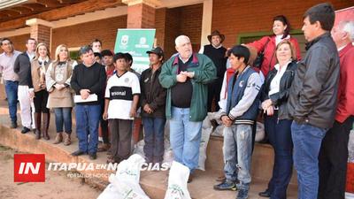 RATIFICAN COMPROMISO DE ACOMPAÑAR A COMUNIDADES INDÍGENAS DE ITAPÚA