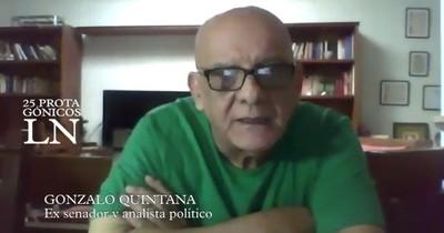 """""""Ciudadanos deben tomar protagonismo en la elección de sus autoridades"""", dice Quintana"""