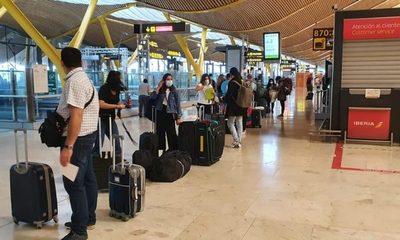 300 connacionales se alistan  para retornar al país desde Europa