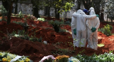 BRASIL LLEGA A LAS 1.349 MUERTES POR CORONAVIRUS EN 1 DÍA