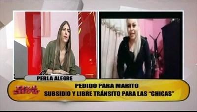 Tenso momento entre Perla Alegre y Nati Sosa Jovellanos