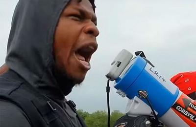 'No sé si tendré una carrera tras esto': John Boyega recibe el apoyo de Hollywood tras su discurso antirracista