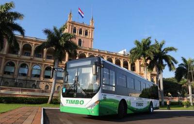 Ofrecerán mañana viajes gratis en bus 100% eléctrico
