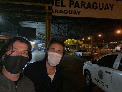 Daniel Garnero ya está en Paraguay