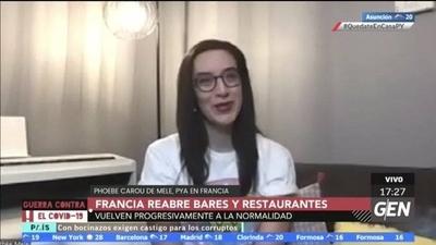 HOY / Francia vuelve a la normalidad en un cincuenta porciento