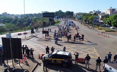 "COVID-19: ""No es momento de abrir las fronteras"", dice gobernador de Alto Paraná"