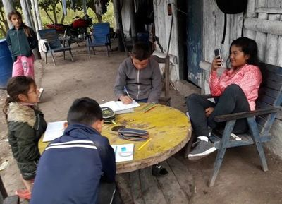La enseñanza virtual es  una difícil tarea en el Chaco