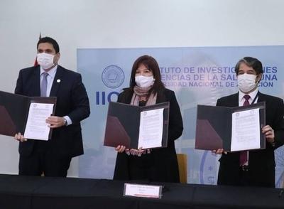 HOY / APF firma convenio con el Instituto de Investigaciones en Ciencias de la Salud
