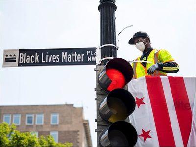 """Cambian el nombre de una calle a """"Black Lives Matter"""""""