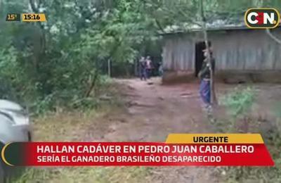 Hallan cadáver de un ganadero desaparecido en Pedro Juan Caballero