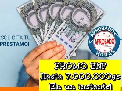 BNF alerta sobre estafas en ofrecimiento de préstamos