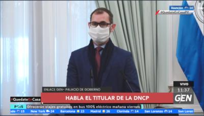 HOY / Pablo Seitz, titular de la DNCP, sobre las suspensiones de las licitaciones del Ministerio de Salud