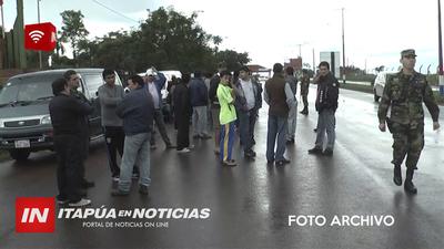 PASEROS DESEMPLEADOS DESDE HACE 3 MESES SOLO RECIBIERON GS. 500.000 DE AYUDA