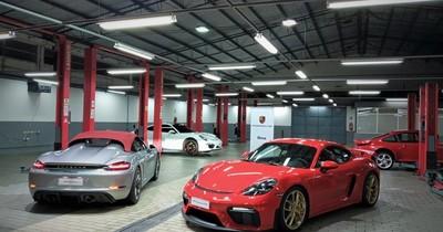 Los Porsche 718 Spyder y 718 Cayman GT4 aterrizaron a Paraguay