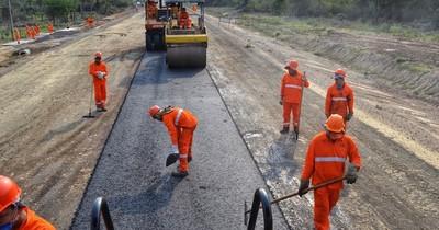 En días más terminarán nuevos tramos de obras en el Chaco Central