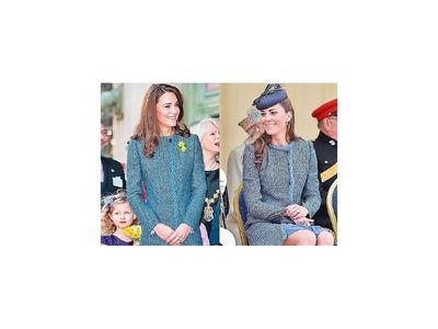 Kate Middleton reutiliza sus atuendos