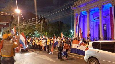 """""""La corrupción es más grave que la aglomeración"""", afirma manifestante"""