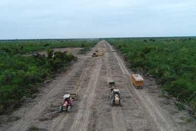 Se iniciaron las tareas de limpieza en el río Pilcomayo