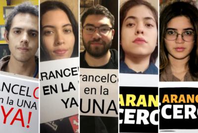 ¡Arancel Cero! El pedido de los estudiantes de la UNA que llena de debates las redes