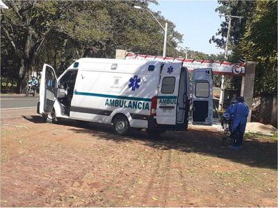 Hombre con síntomas de Covid-19 fue auxiliado luego de dos horas