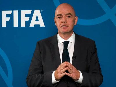 """Infantino: """"La reanudación del fútbol es un rayo de esperanza"""""""